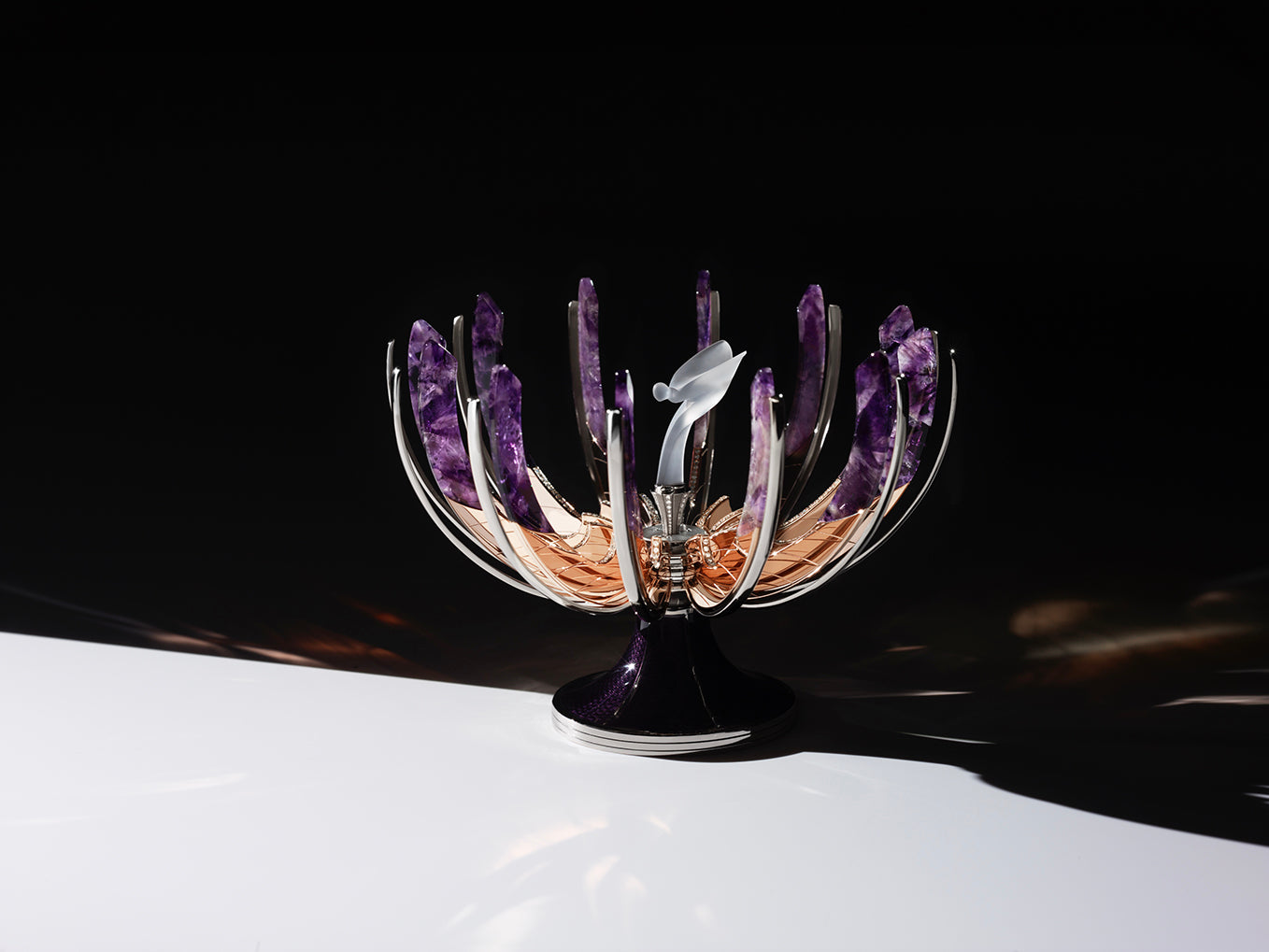 Spirit of Ecstasy Fabergé egg designed by Rolls-Royce