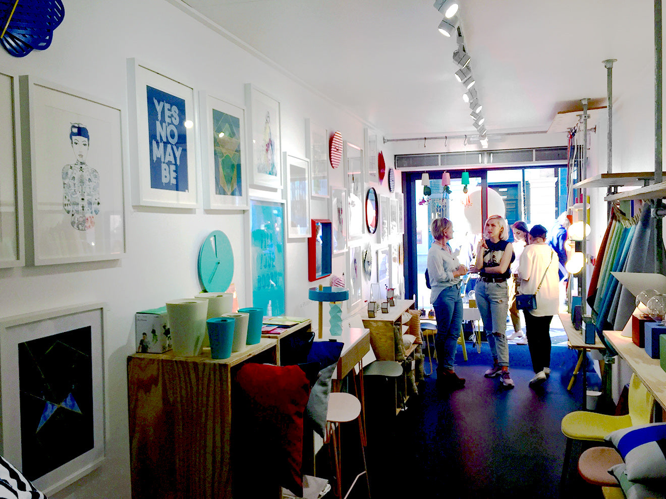A Splash of Colour pop up store Shoreditch