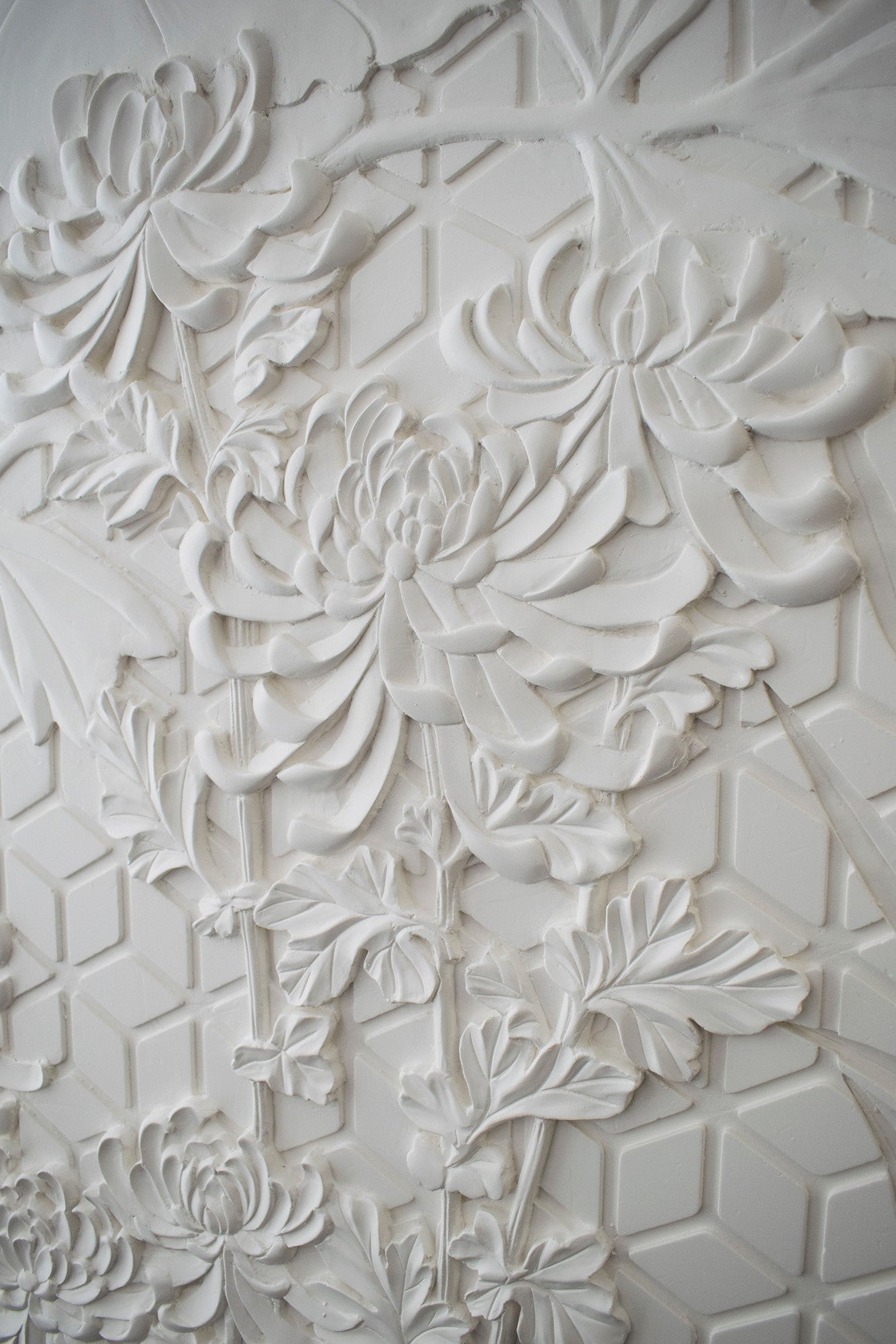Staff Decor floral wall moulding design