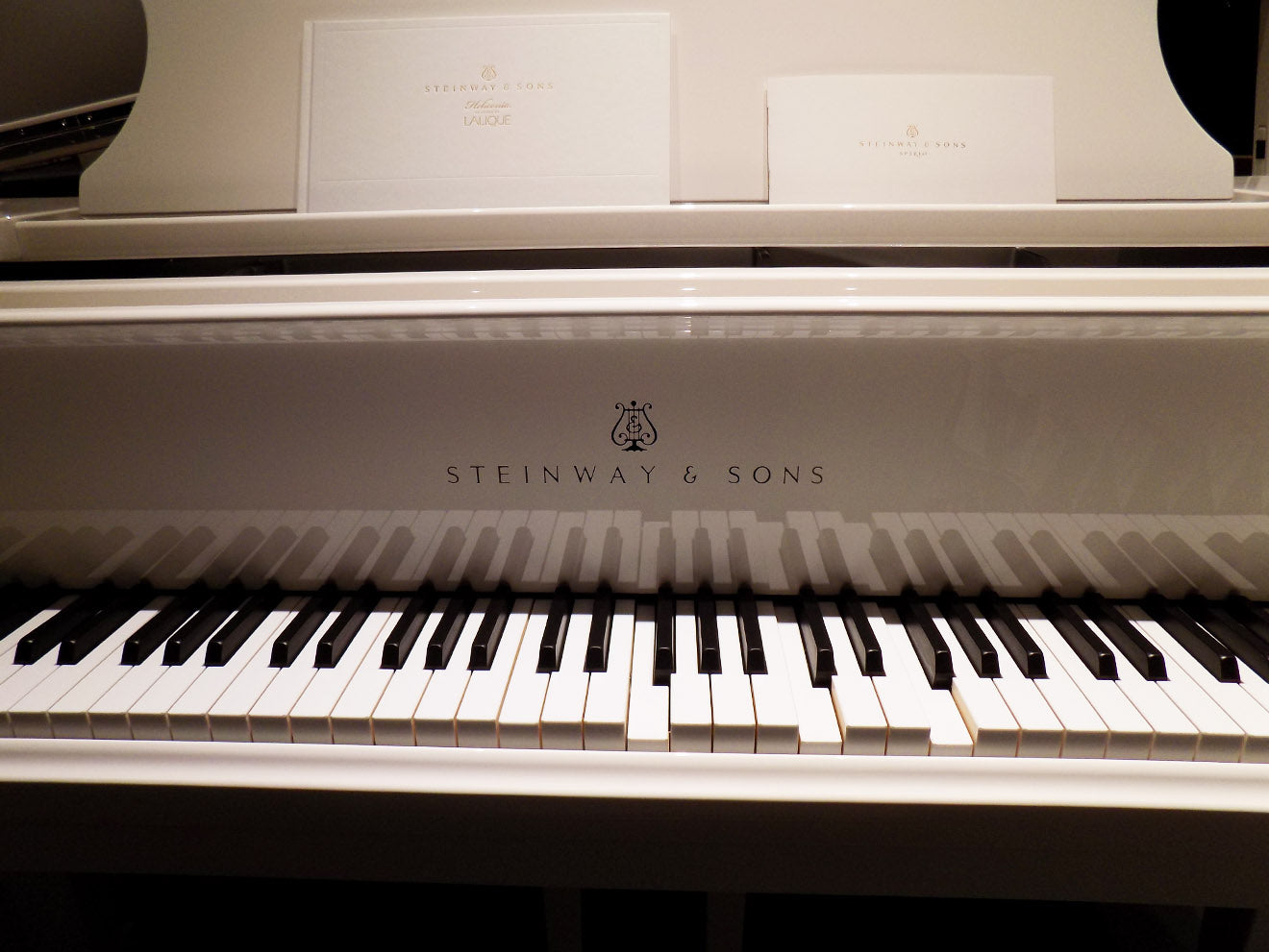 Steinway & Sons luxury piano self playing at Masterpiece