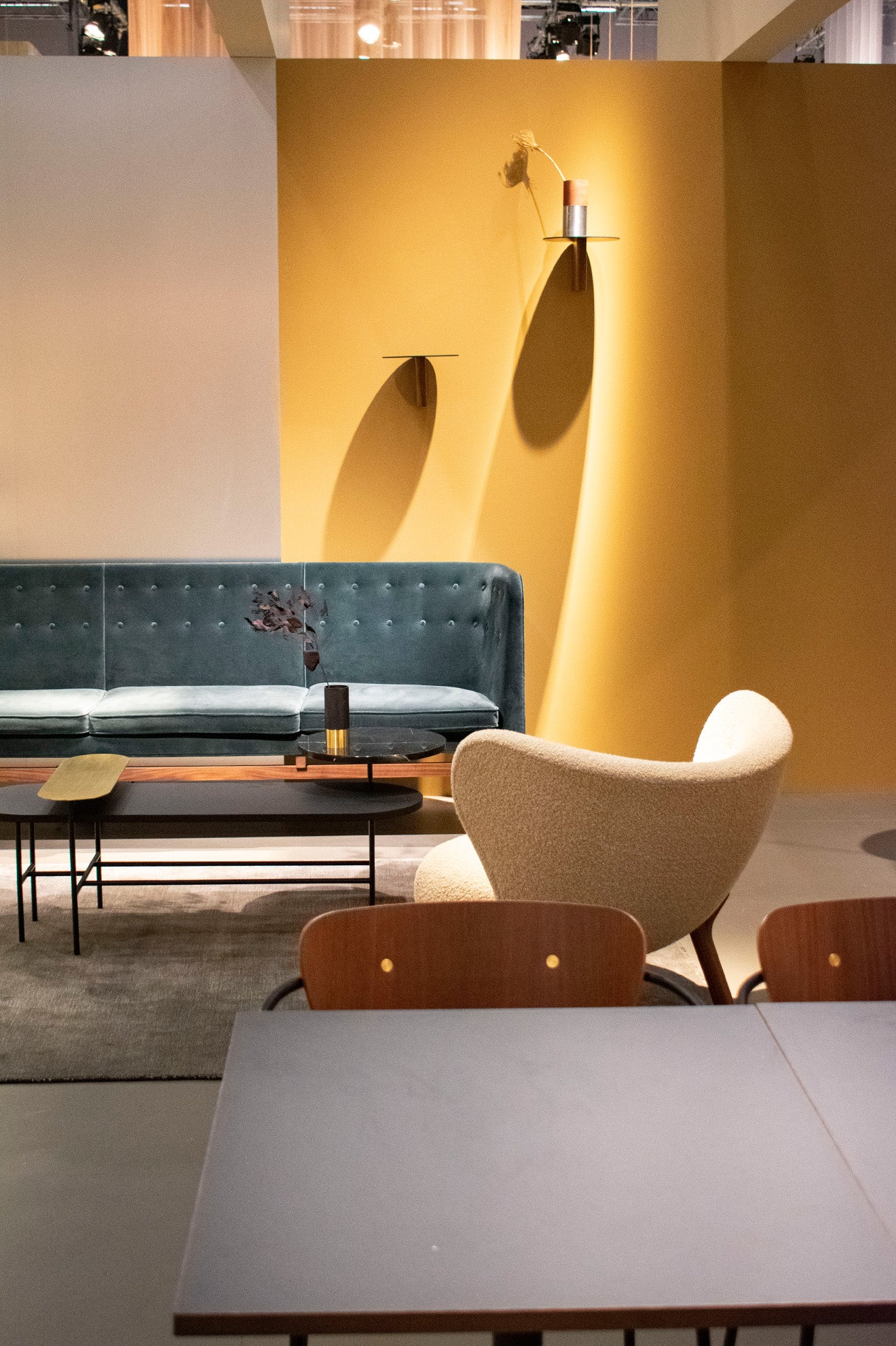 And Tradition on display at the 2019 Stockholm Furniture Fair