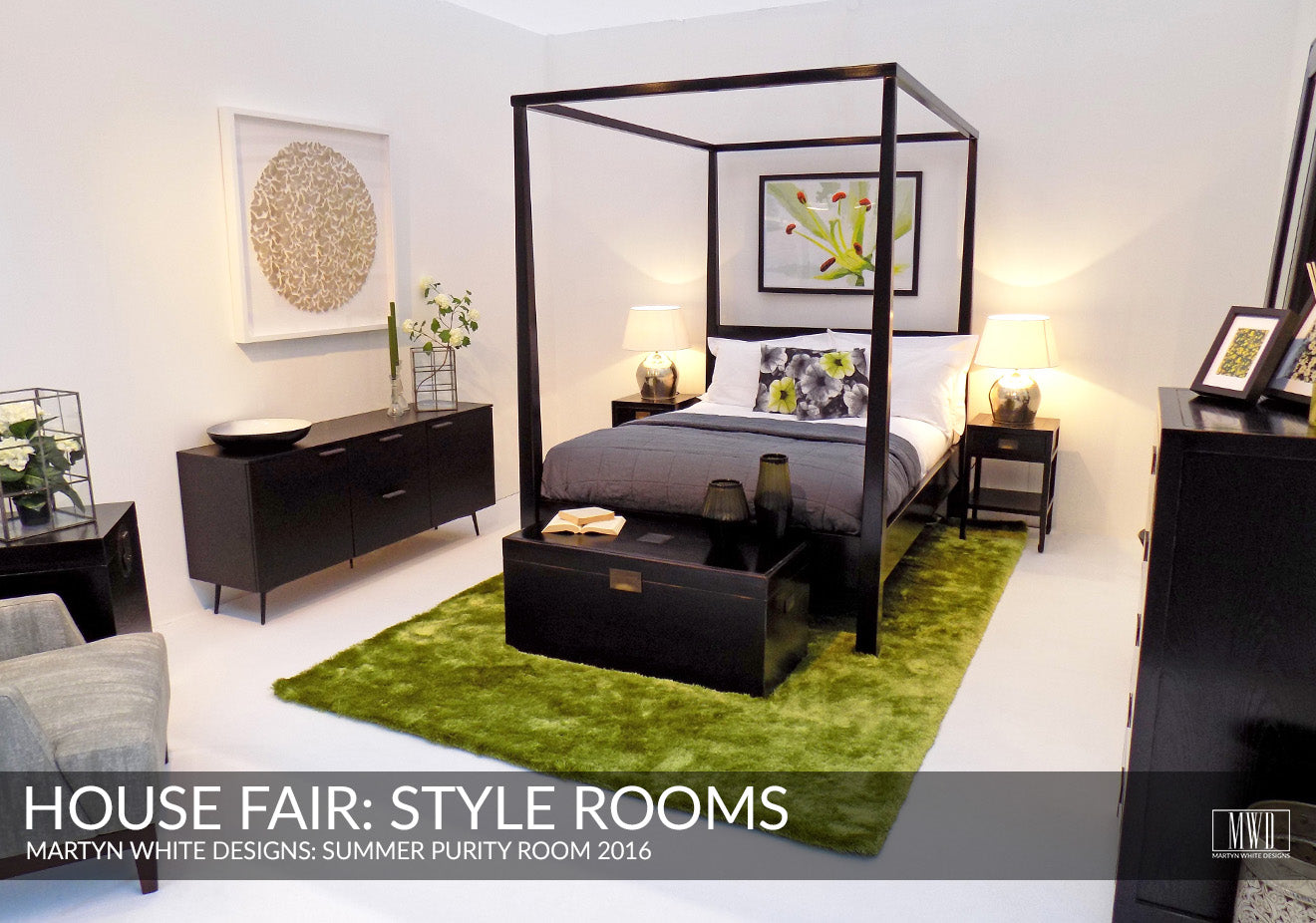 Summer inspired bedroom the House Fair Style Rooms