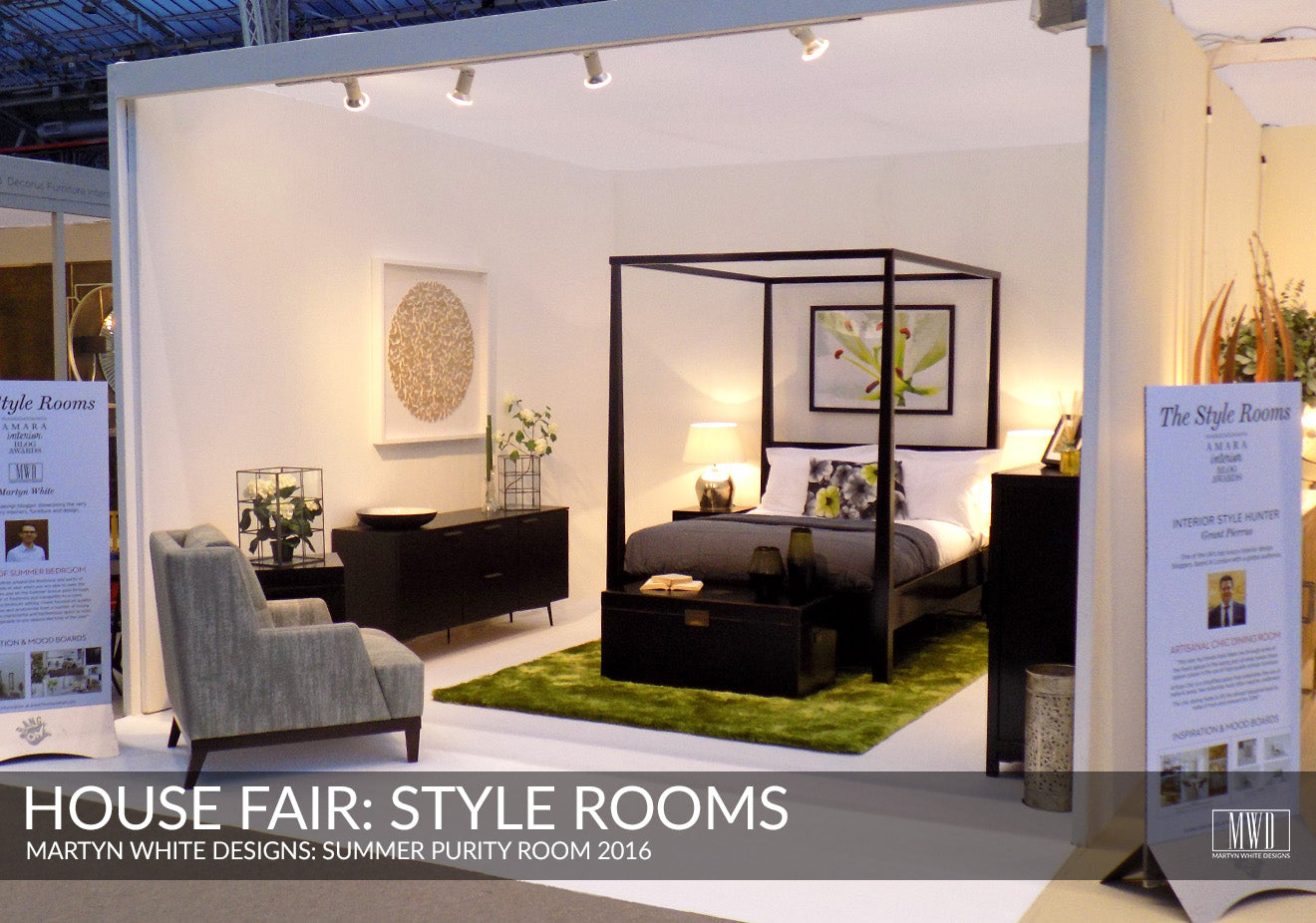 Style rooms on display at the House Fair 2016