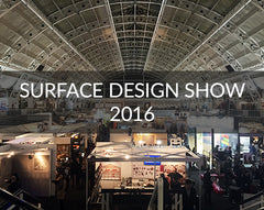Surface Design Show London 2016 exhibitors and highlights