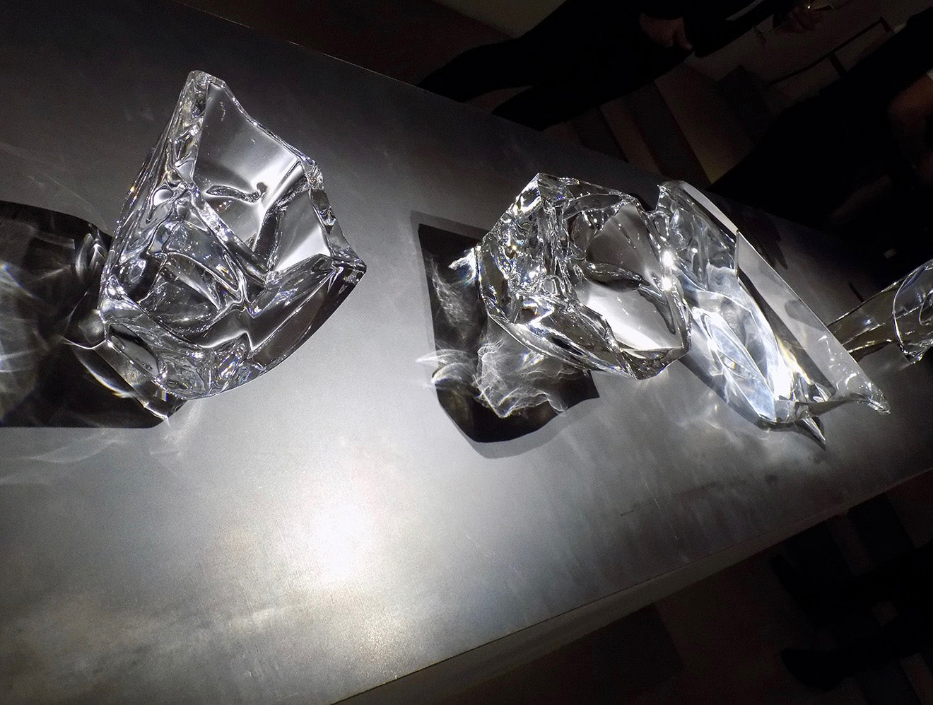 Swarovski Atelier collection Glaciarium collection Fredrikson and Stallard
