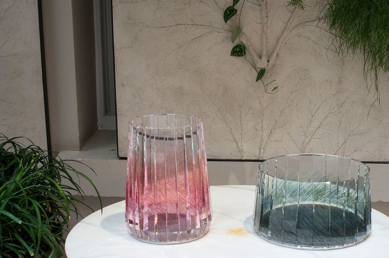 Raw Edges Printed Swarovski Atelier Home Collection