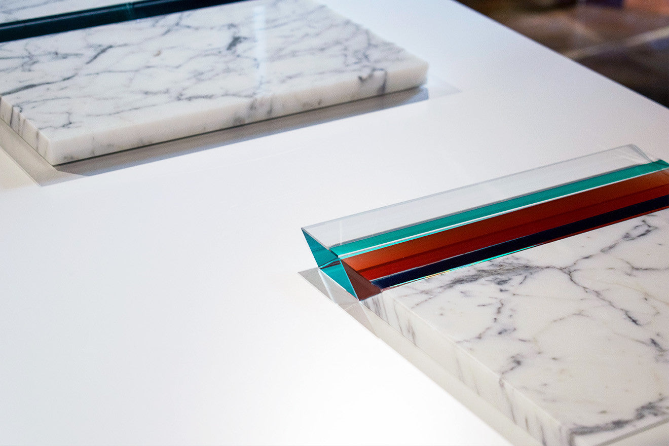 Tomas Alonso marble and crystal designs for Swarovski Atelier Home