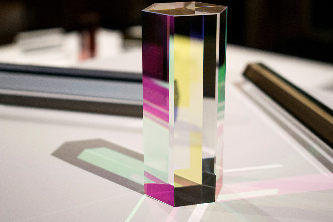 Studio Brynjar and Veronika colourful prism designs Swarovski Atelier Home Collection