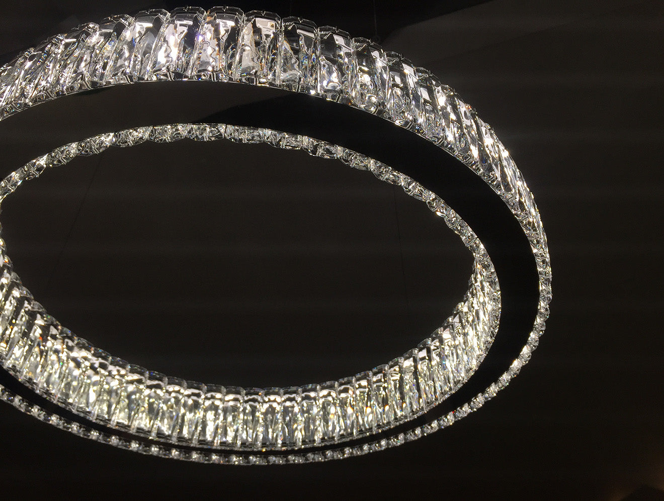 Swarovski Helios Chandelier by Fredrikson Stallard Glacarium Collection