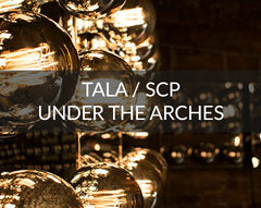 Tala and SCP under the arches