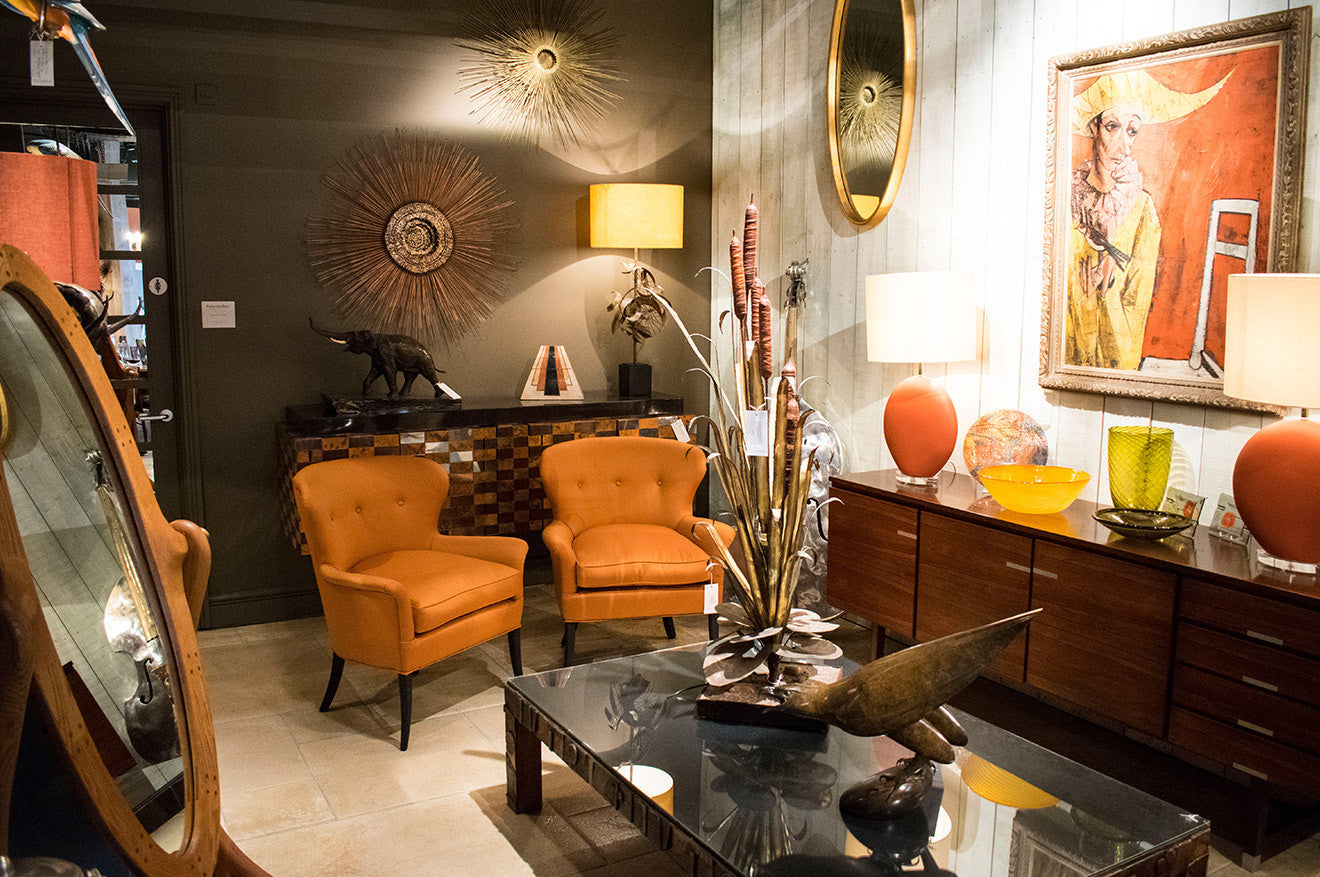 The world of talisman london martyn white designs for Modern furniture stores london