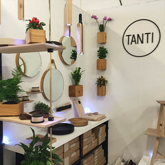 wooden home accessories and furniture from Tanti