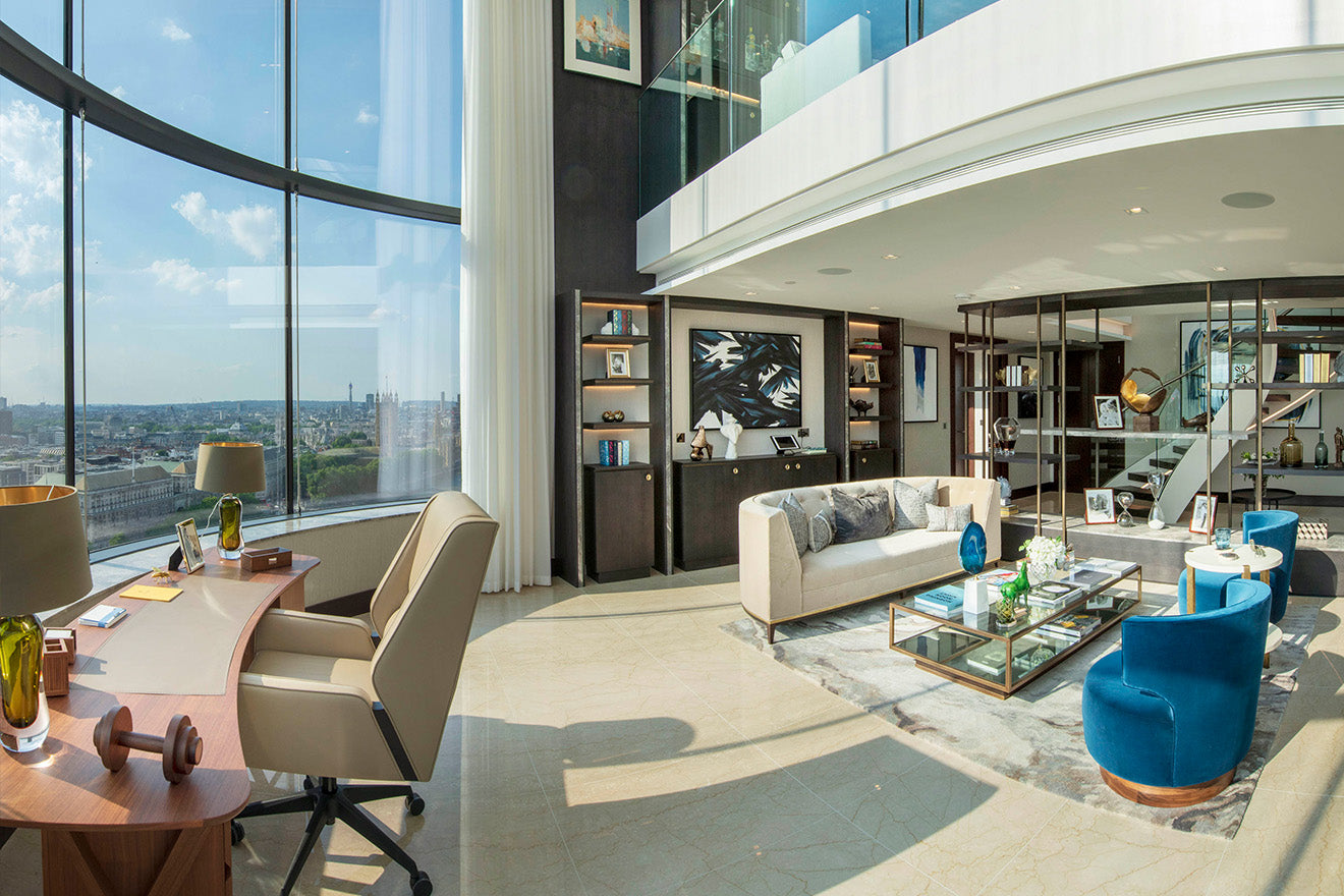 The Corniche Luxury Penthouse Albert Embankment St James