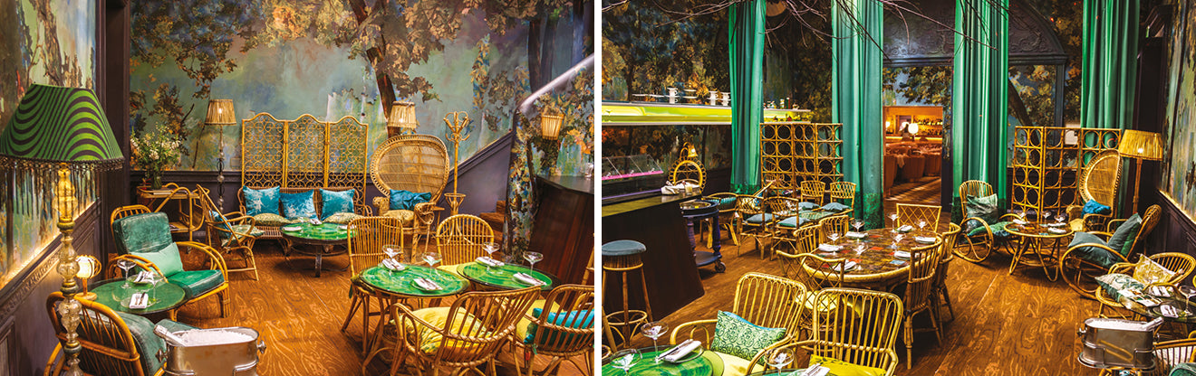 Best London restaurants Sketch The Glad restaurant