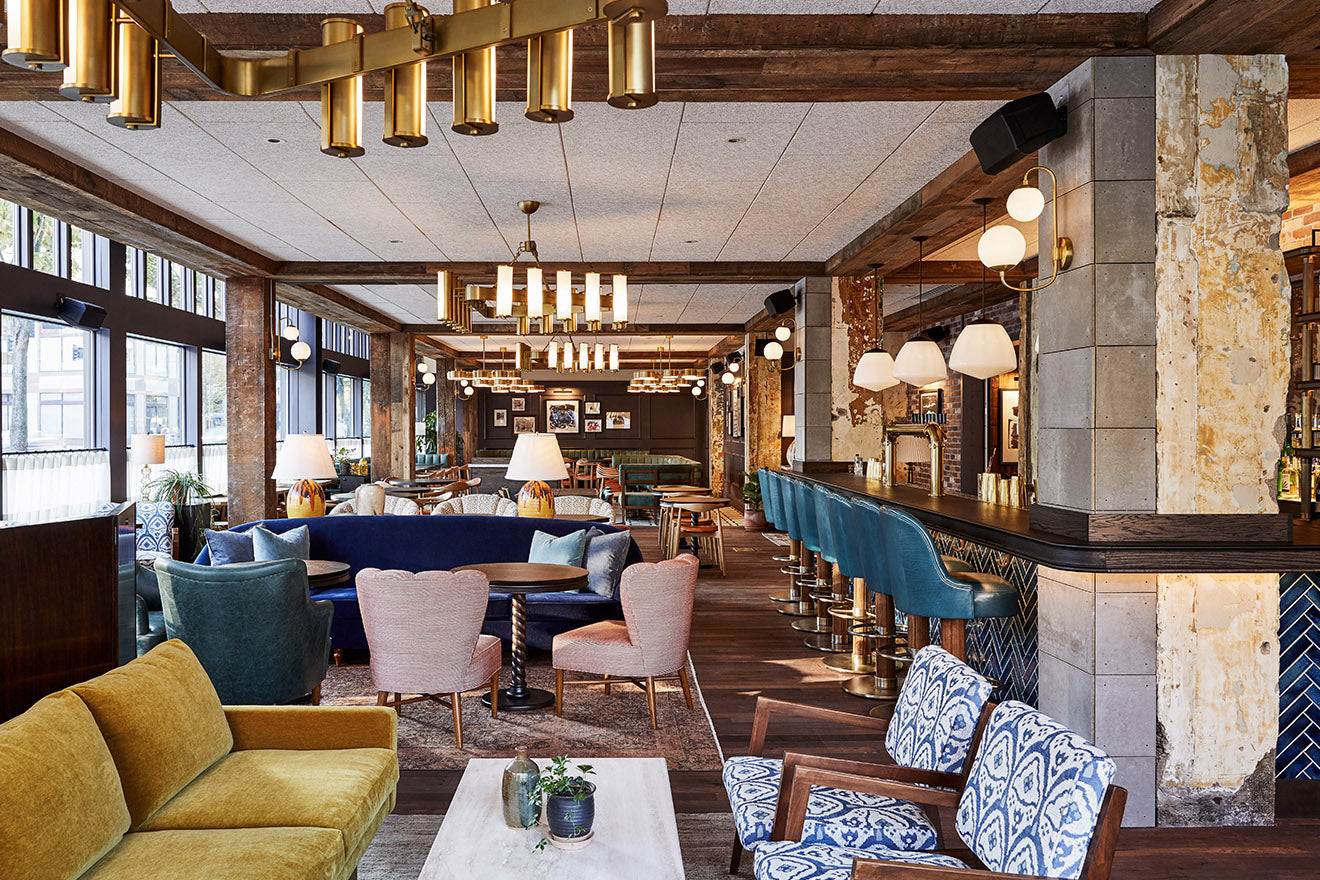 The Hoxton Hotel Portland Bar designed by Fettle