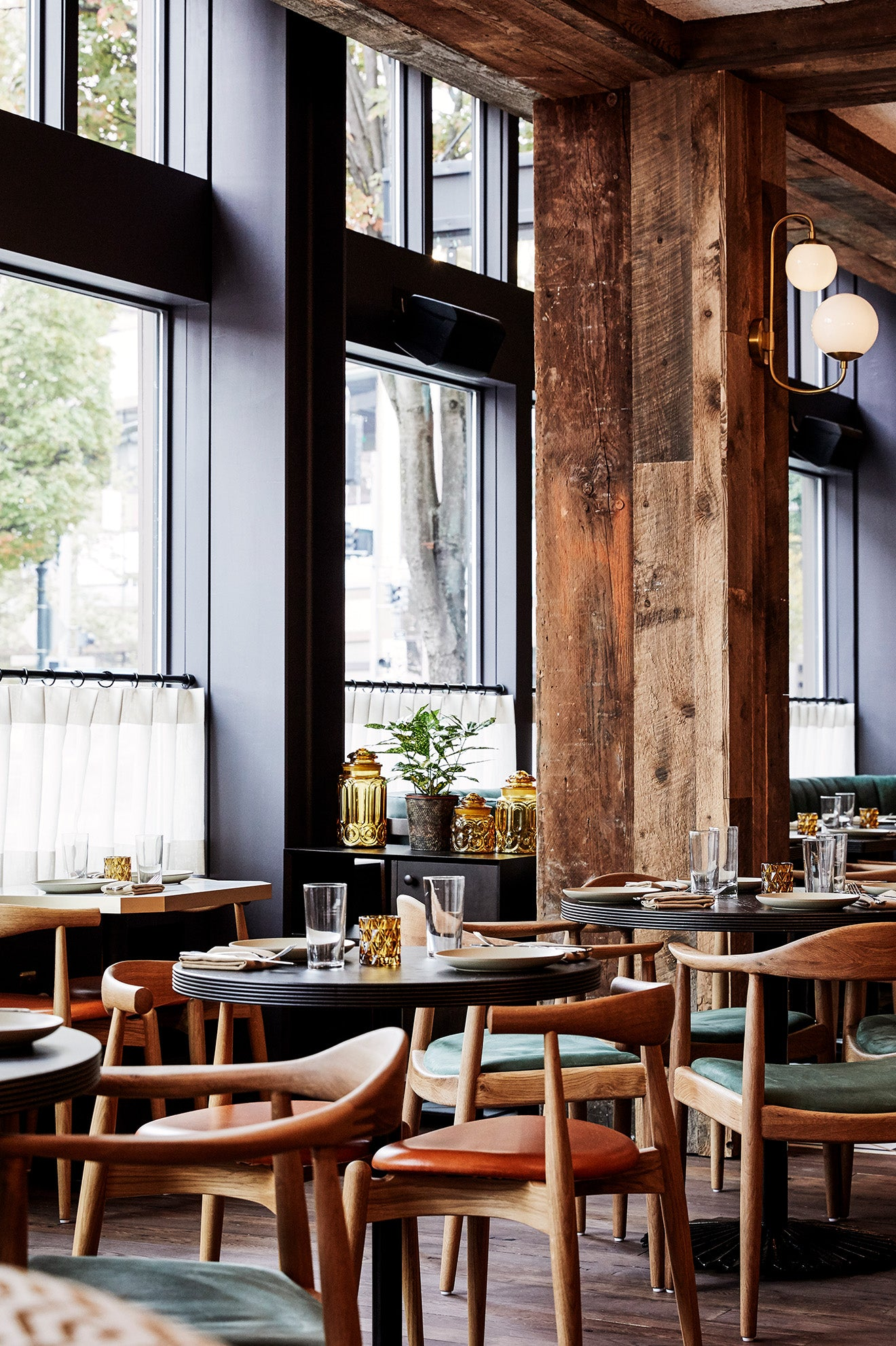 The Hoxton Hotel Portland Restaurant designed by Fettle