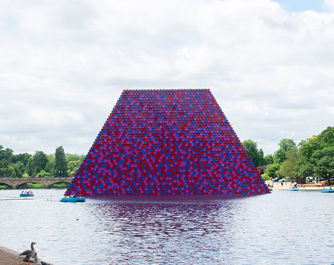 The London Mastaba Christo