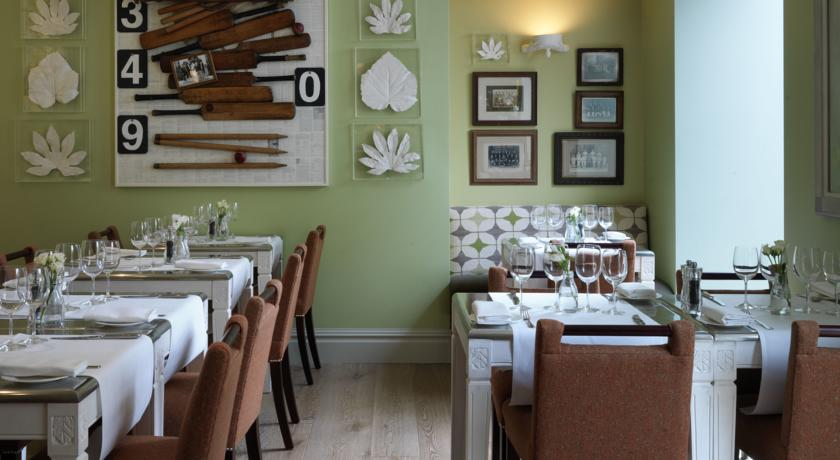 Potting shed restaurant at the Dorset Square Hotel
