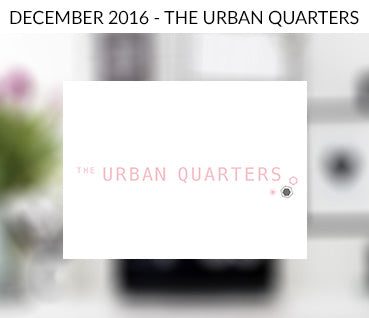 The Urban Quarters Blog