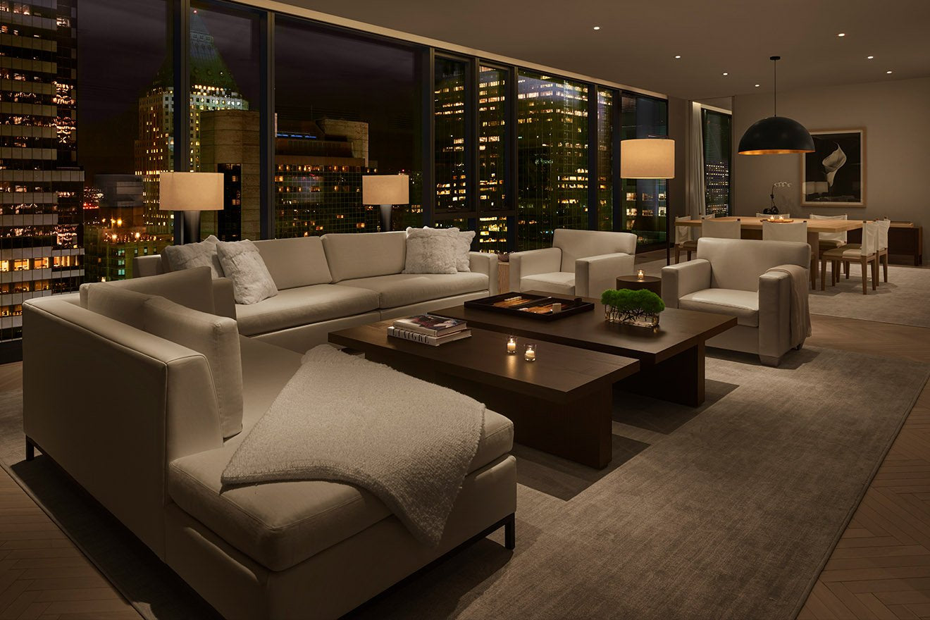 The Times Square Edition Hotel Penthouse Suite Interior Design