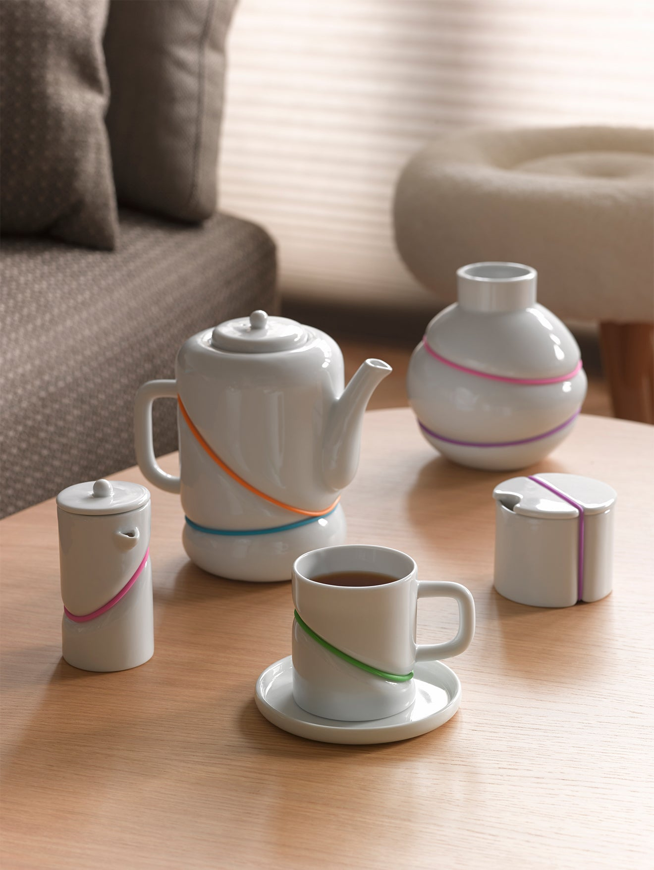 Toast Living Rubber Band Tea collection
