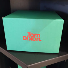 Tom Dixon AW15 Green and orange packaging