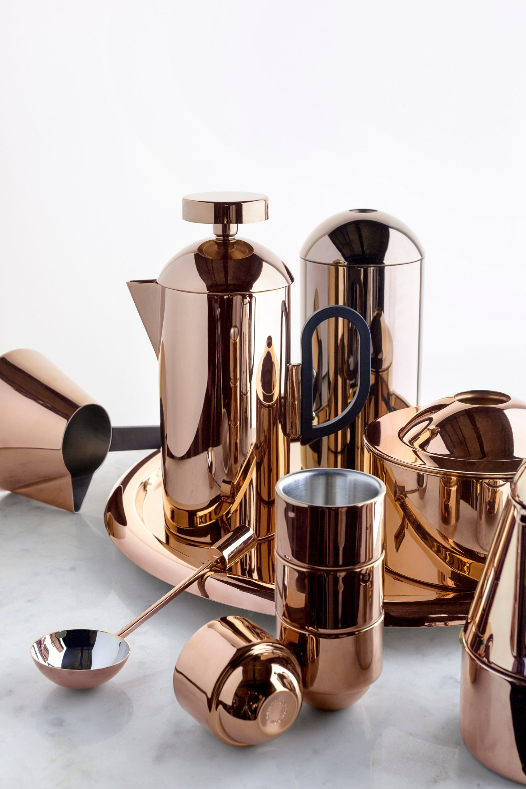 Tim Dixon Brew copper collection