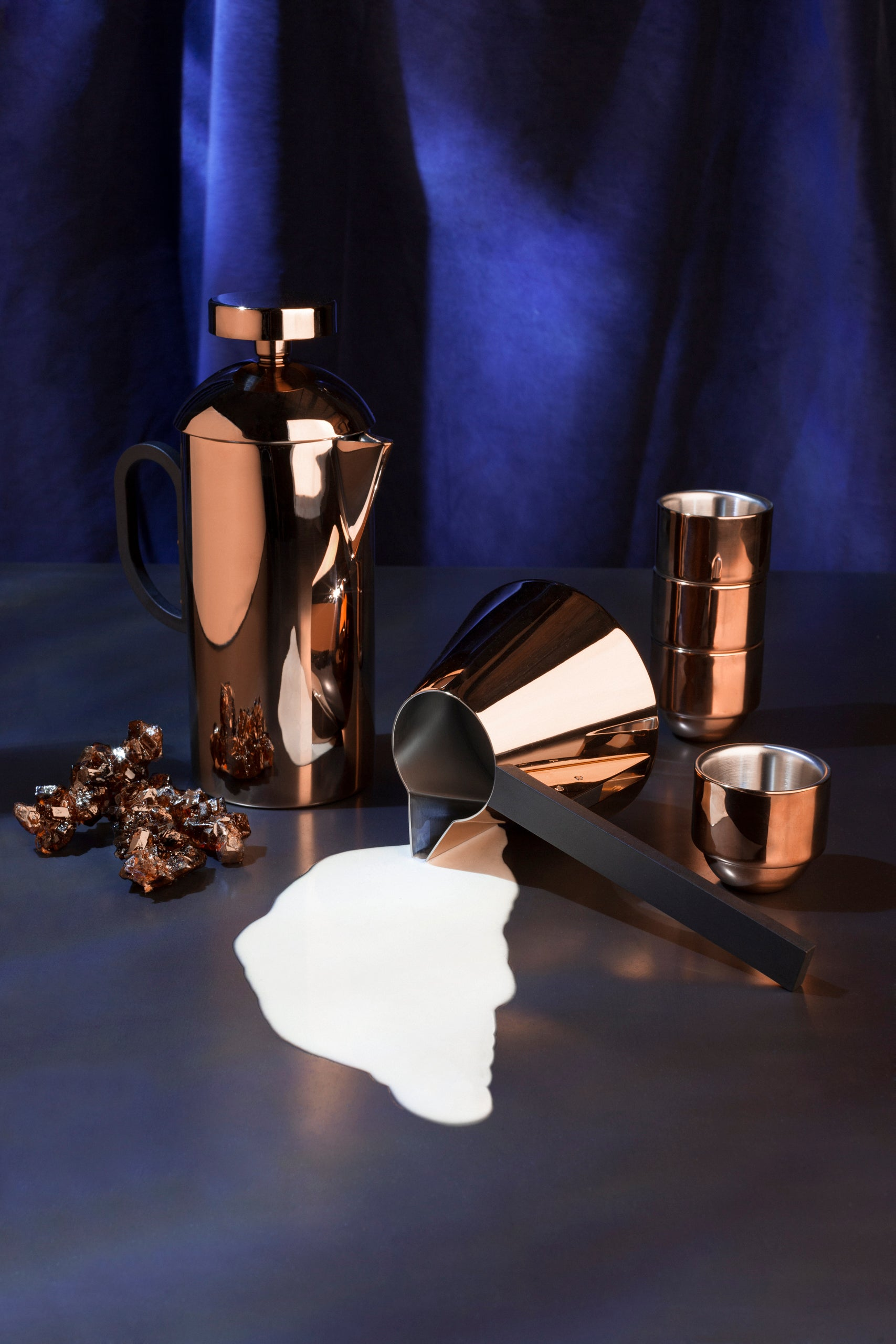 Tom Dixon copper brew collection