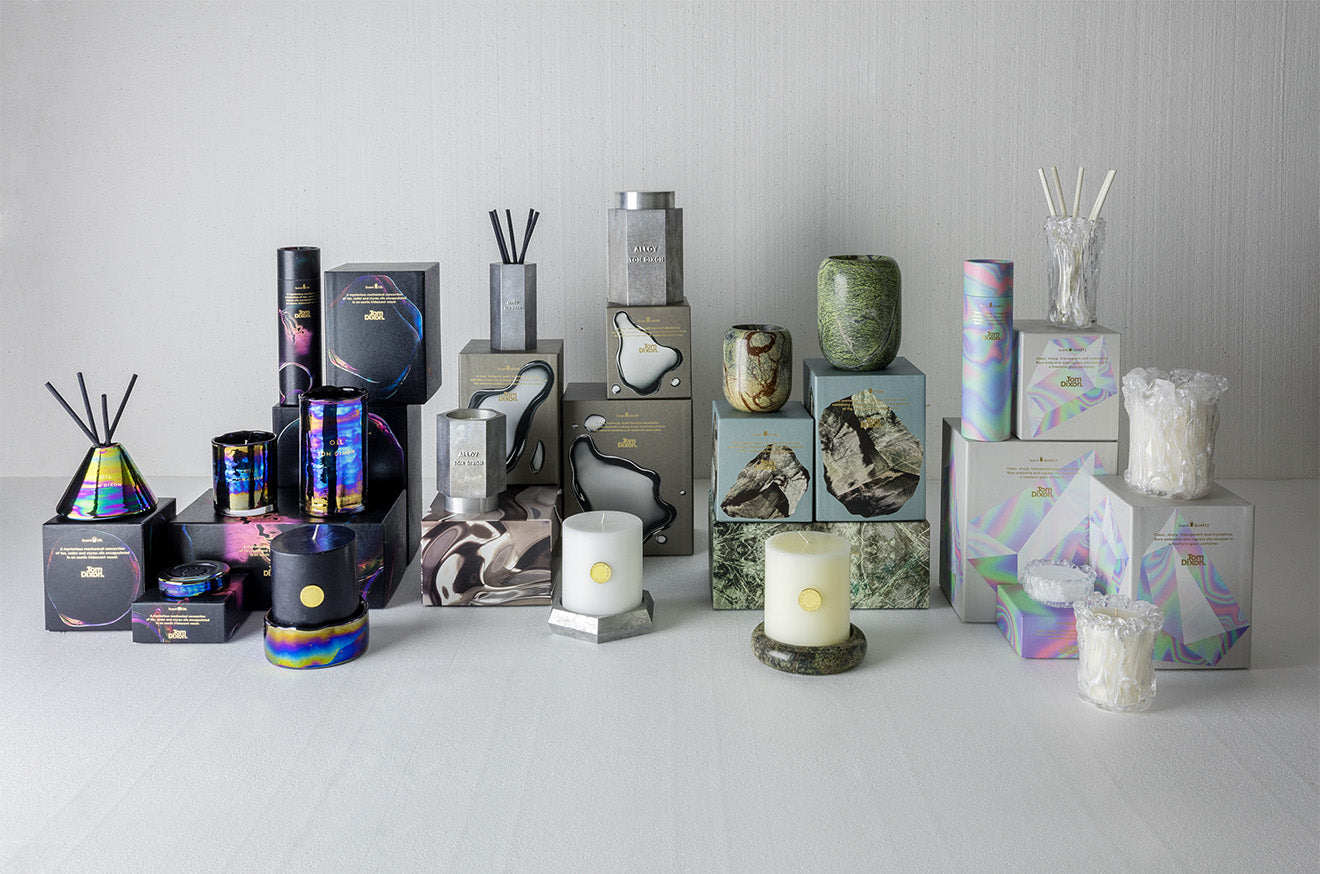 Tom Dixon luxury candle collections for AW2016