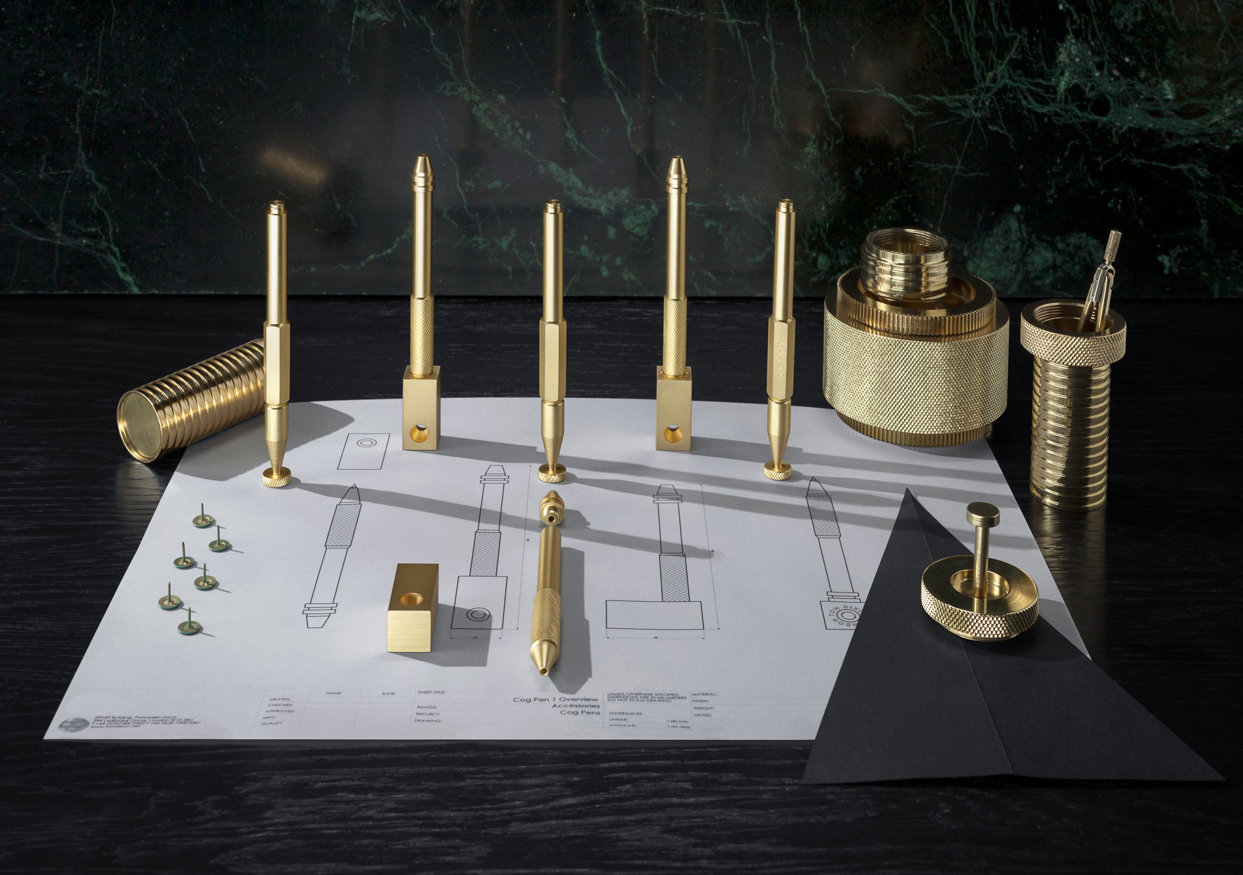 Tom Dixon Cog Pen collection