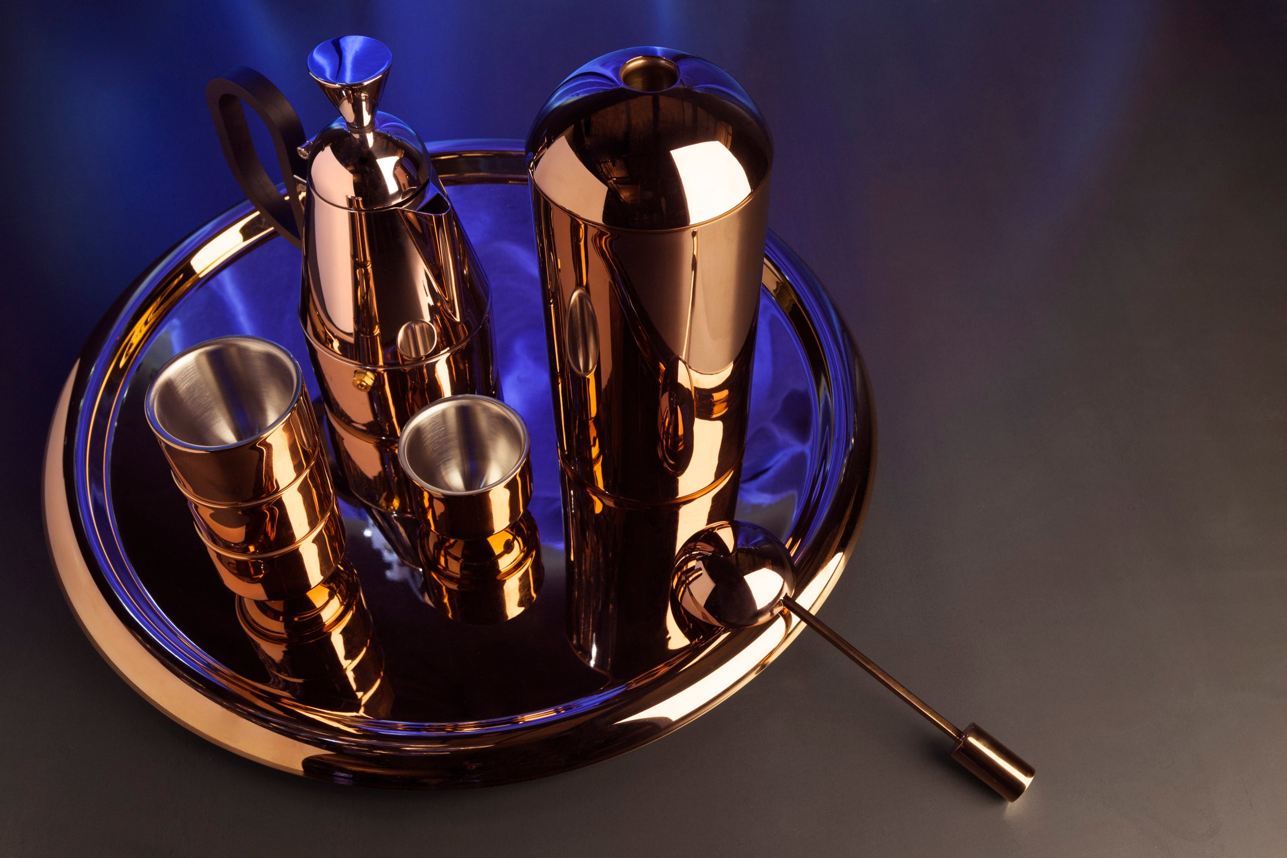 Brew Copper Coffee Collection from Tom Dixon