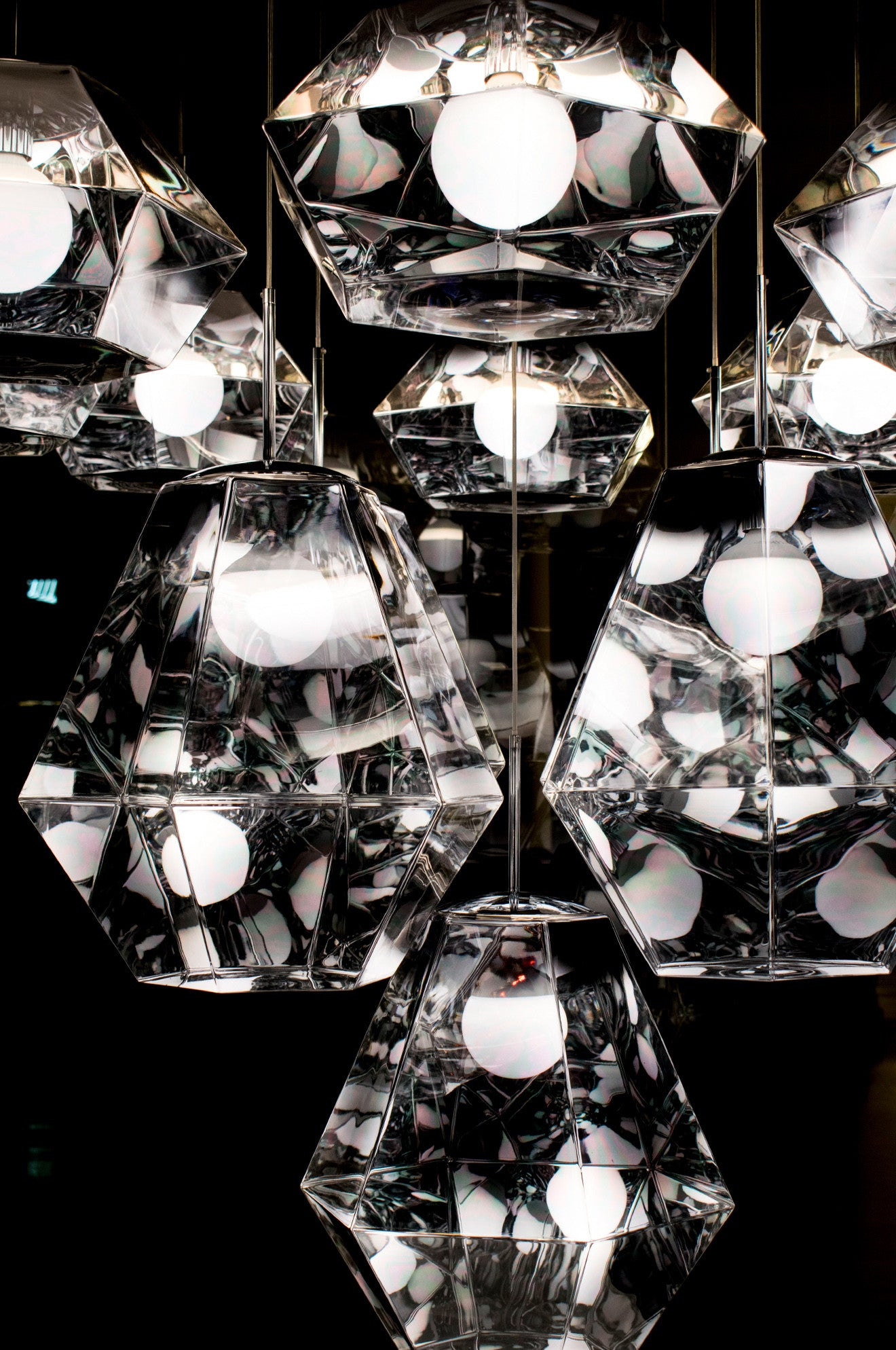 Tom Dixon Cut Pendant Lighting in Chrome