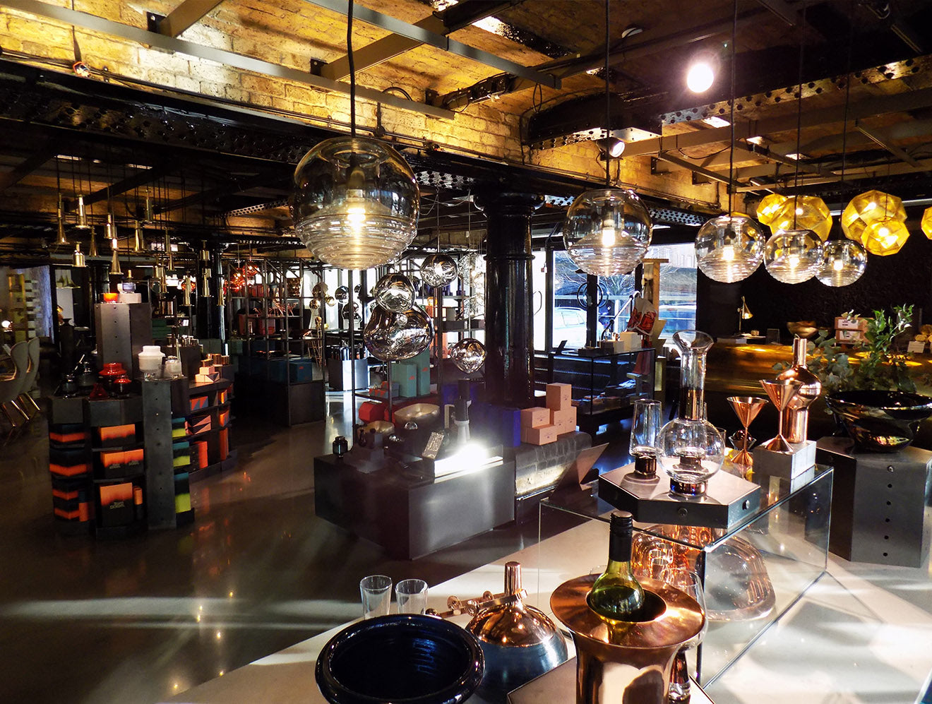 Tom Dixon store Portobello Dock London