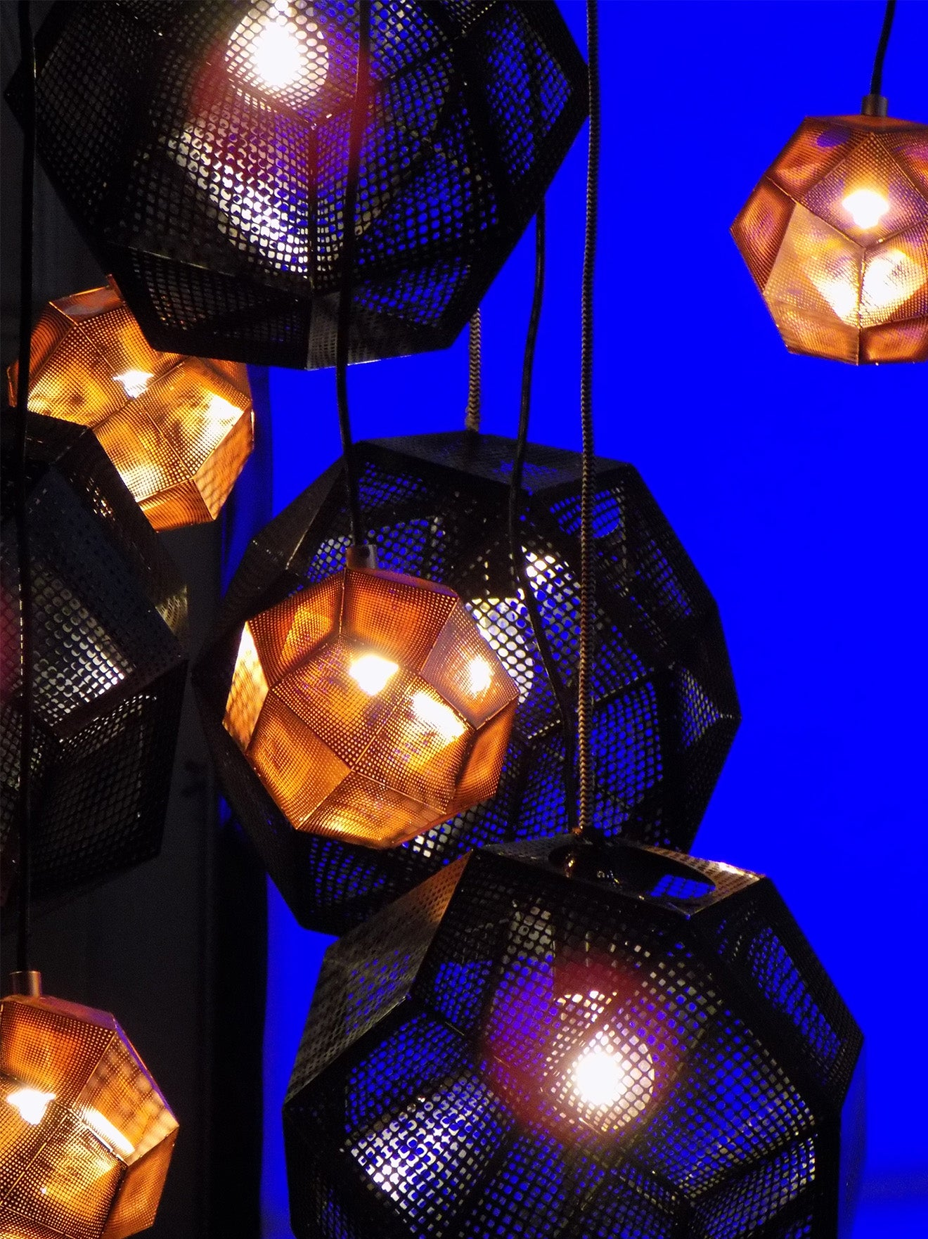 Tom Dixon London luxury industrial pendant lighting