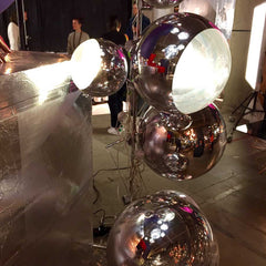 Tom Dixon mirror ball lighting