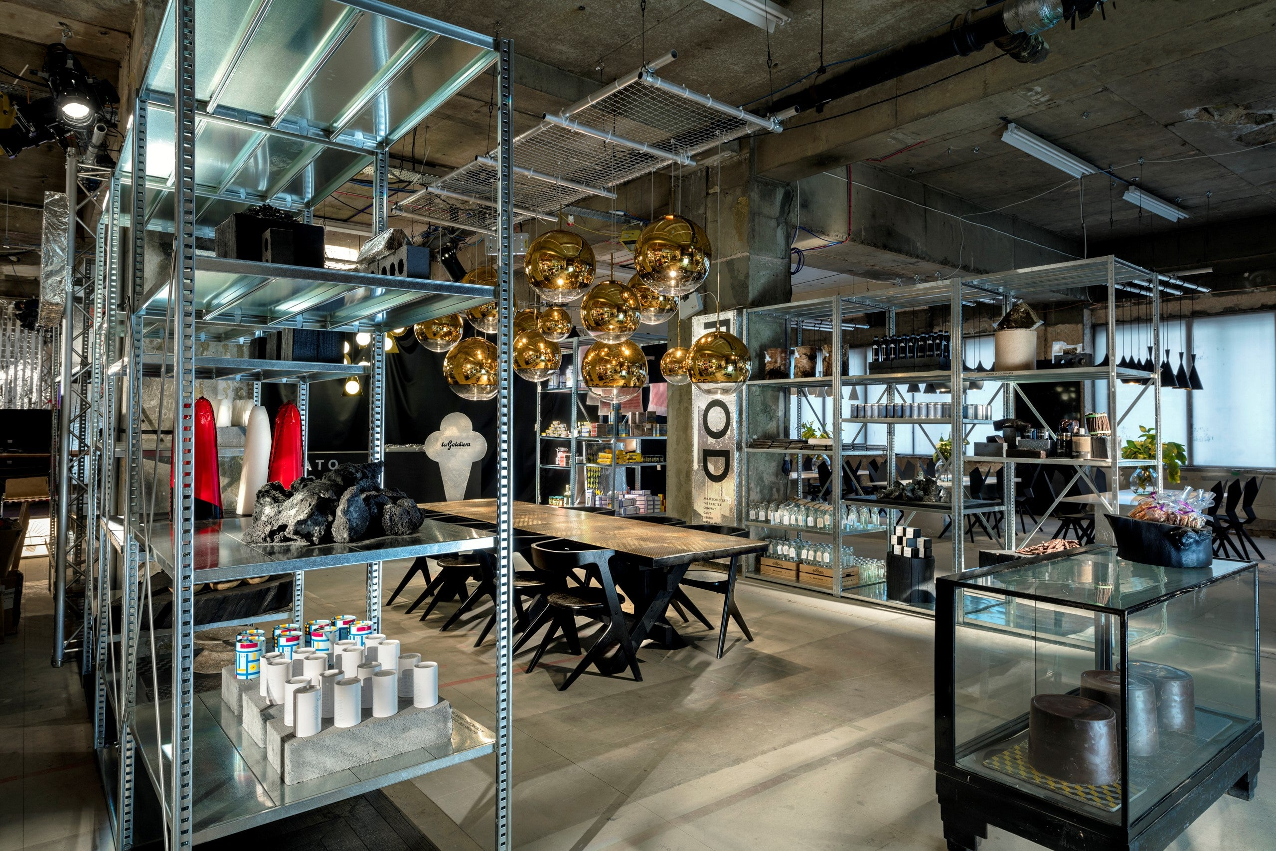 Tom Dixon Multiplex store for London Design Festival