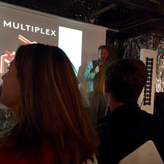 Tom Dixon talking at Multiplex