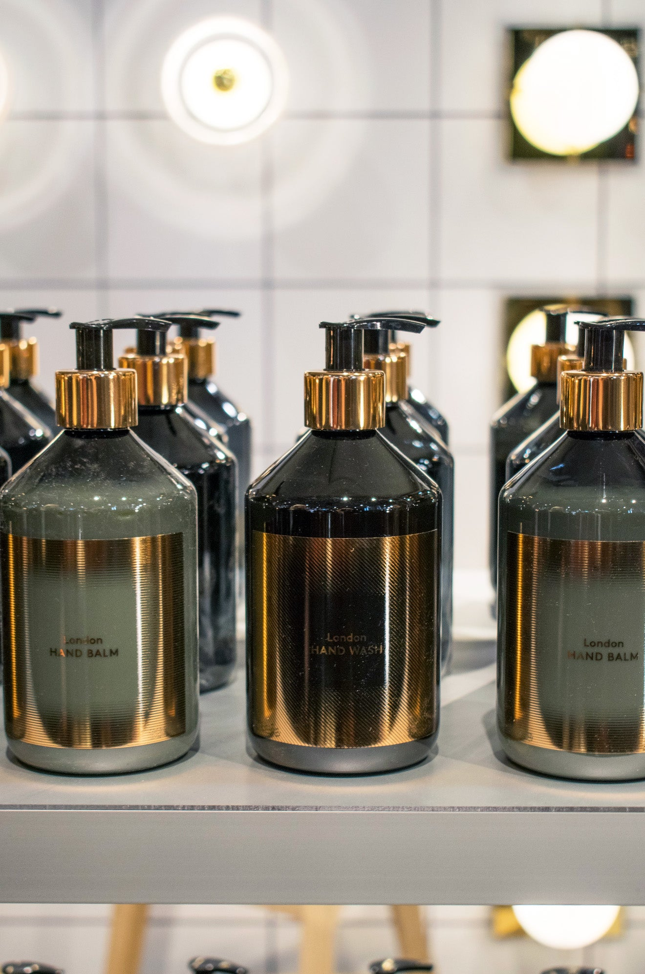 Tom Dixon Wash soap and hand balm at Maison & Objet