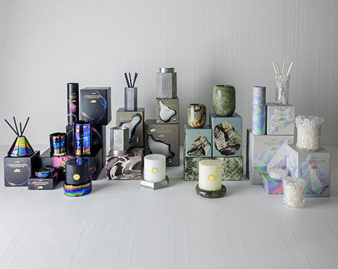 Tom Dixon candle collection