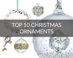 Top 10 Christmas Baubles and luxury decorations