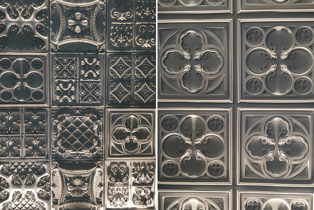 Stunning traditional style plasterwork at the Surface Design Show