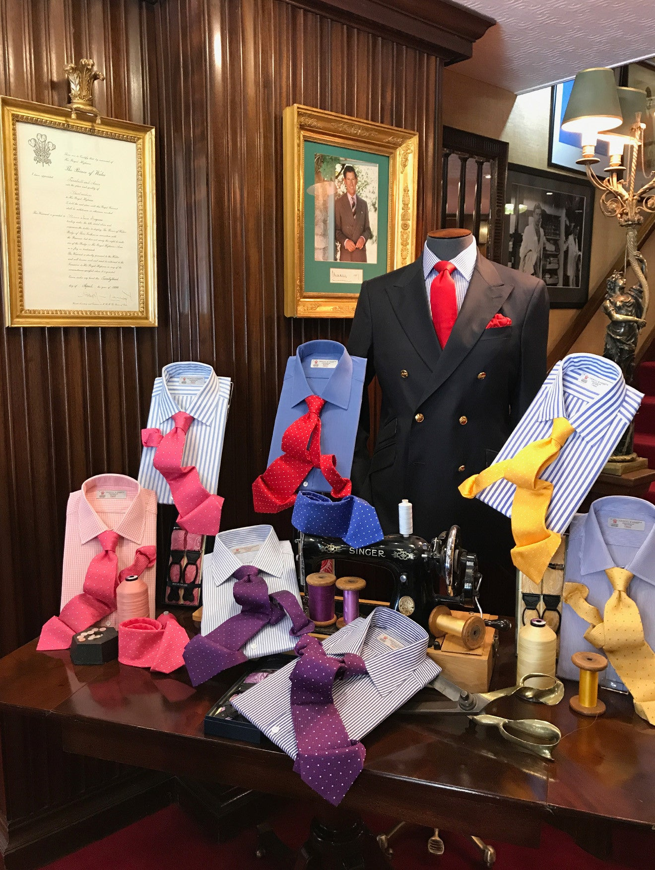 Turnbull and Asser Royal Warrants