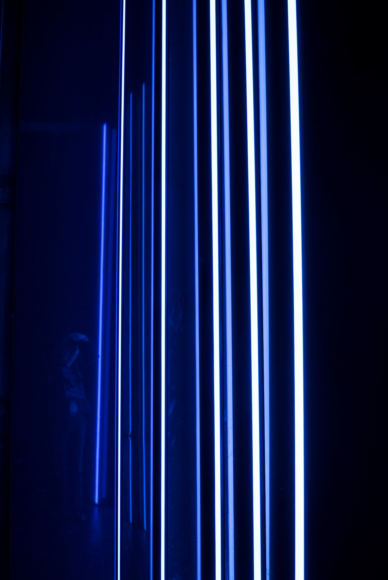 Victoria & Albert Museum Reflect Room London Design Festival Blue