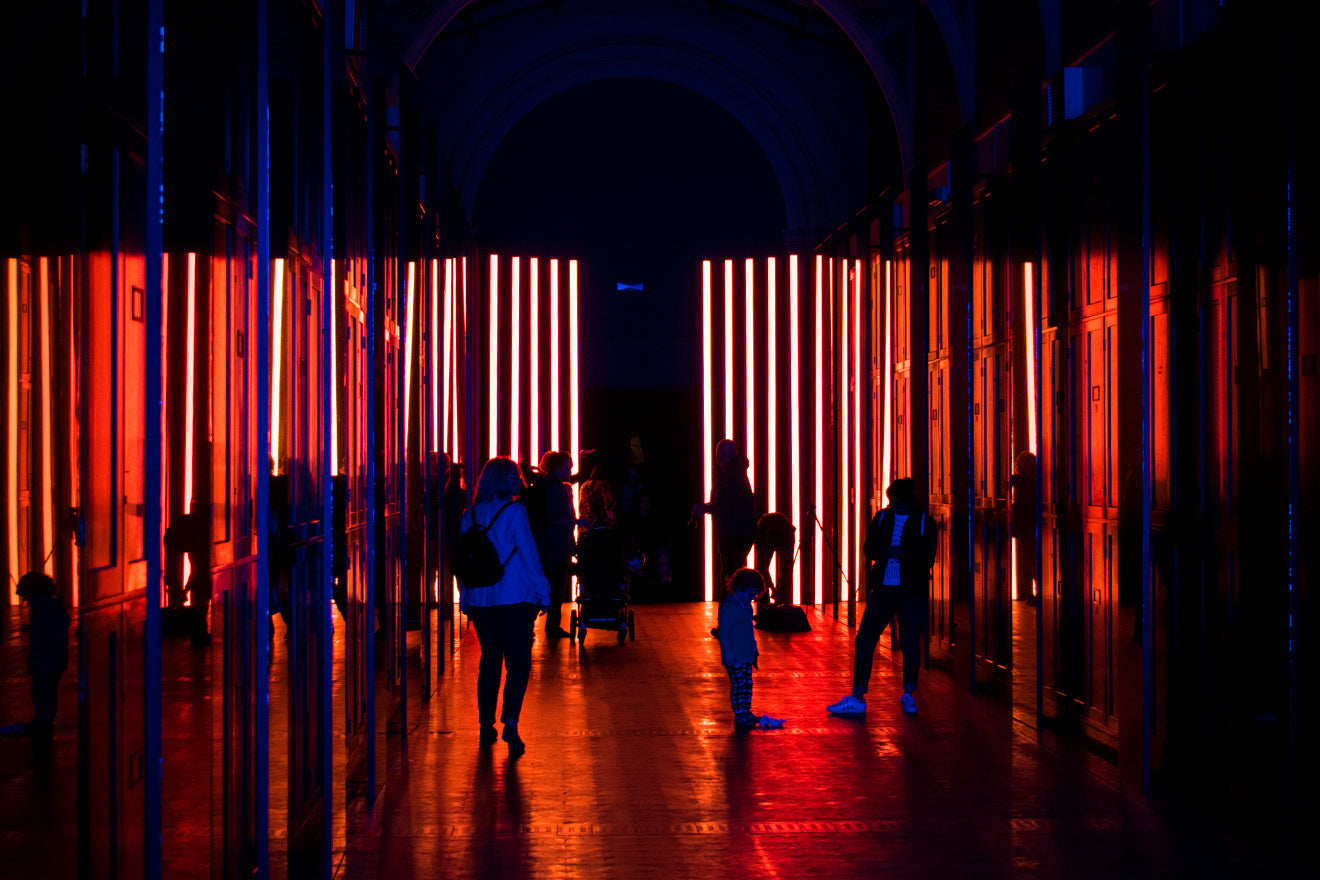 Victoria & Albert Museum Reflect Room London Design Festival Red