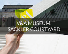 V&A Museum Sackler Courtyard Opening