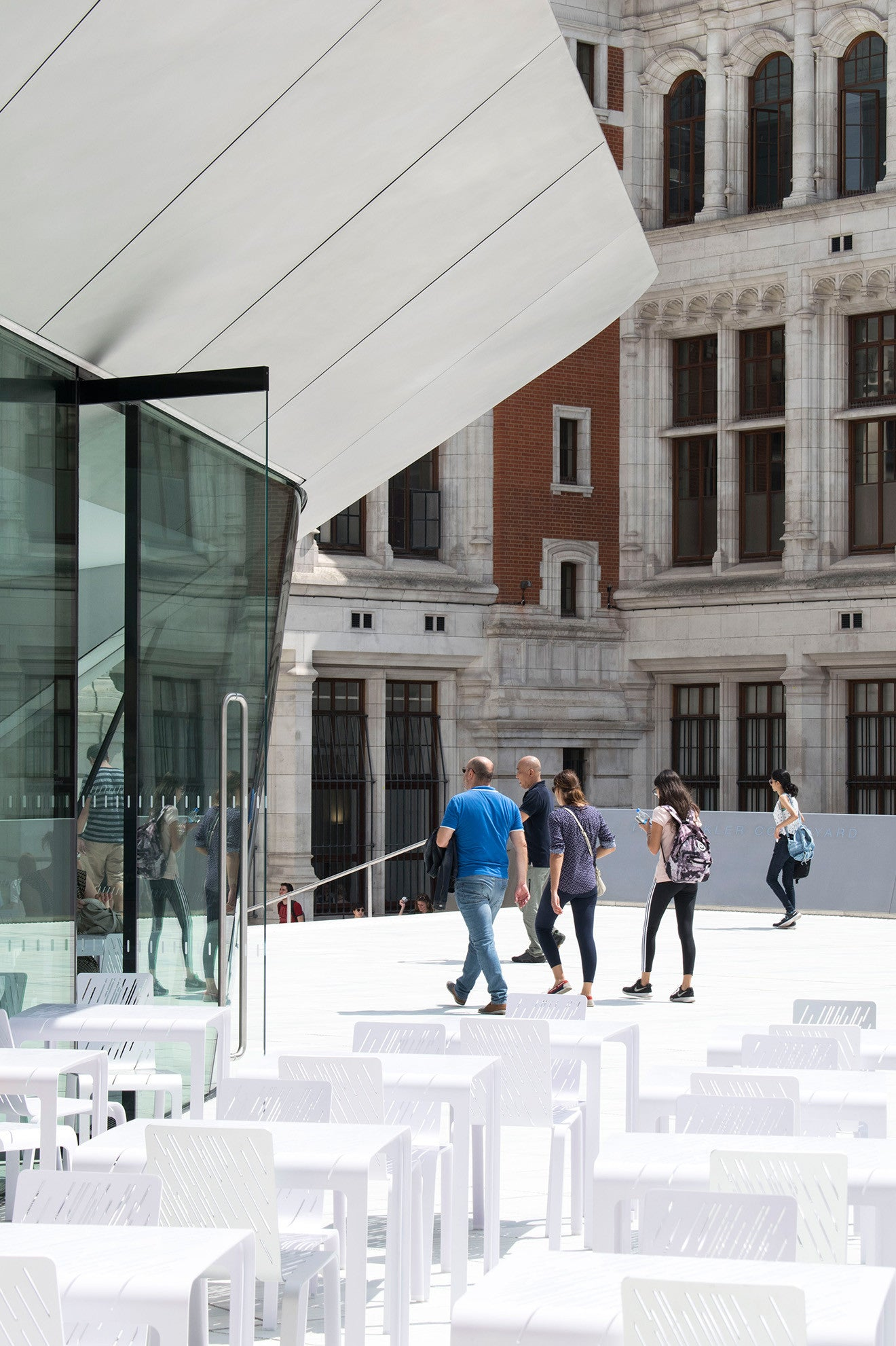 V&A Sackler Courtyard new extension