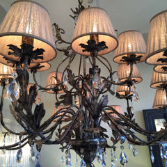 Traditional Metal Chandelier
