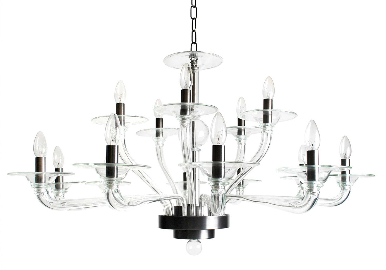 Villaverde luxury lighting designs glass contemporary chandelier