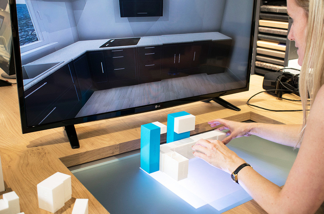 Kitchen Model Virtual Reality experience