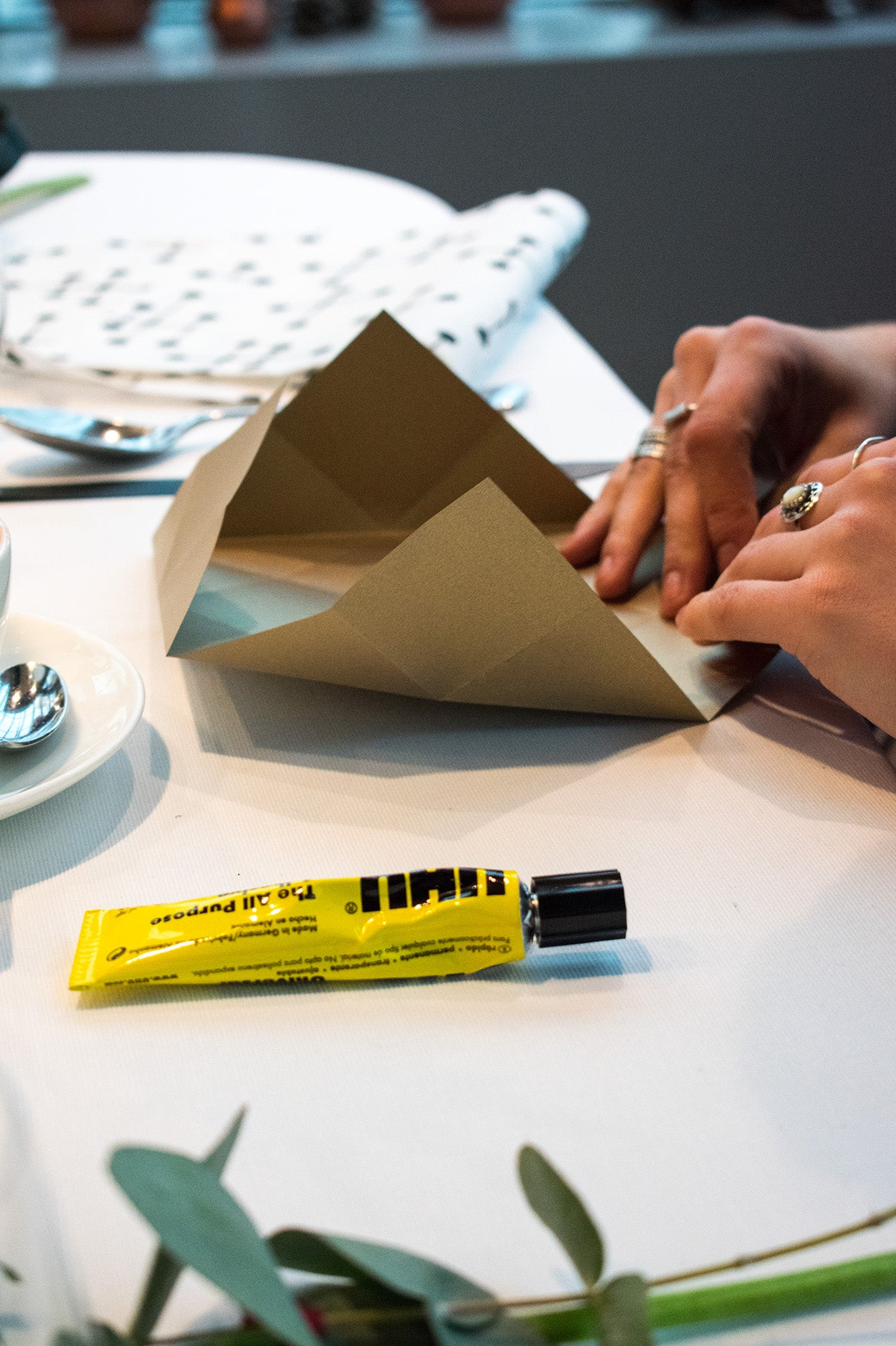 Vitra Home Accessories Blogger Breakfast and Origami Workshop